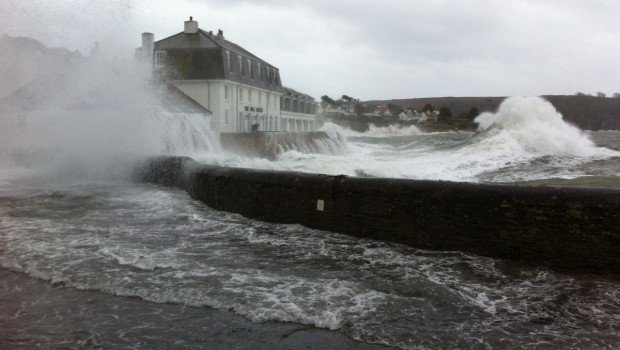 St Mawes Storm Spring 2016