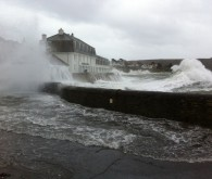 St Mawes Cornwall Storm
