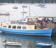 The new St Mawes ferry